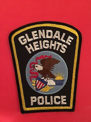 Glendale Heights Illinois Police Patch