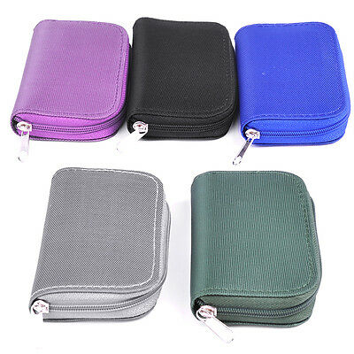 Memory Card Storage Carrying Pouch Case Holder Wallet For CF/SD/SDHC/MS/DS DE