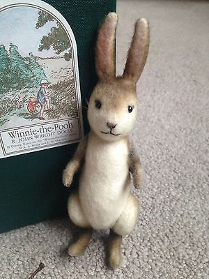 R. John Wright Limited Edition Pocket Jointed Bunny Rabbit MIB ALL ID BUY NOW NR