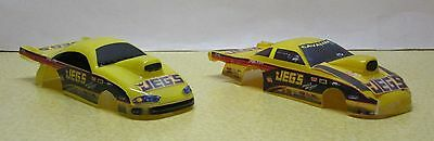 1/43-2  Pro Stock Jegs Drag Racing Bodies - Good Condition