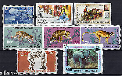 Nice Selection Of Central Africa    Used  (1609062)