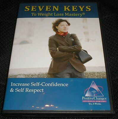 Seven Keys to Weight Loss Mastery Increase Self-Confidence Hypnosis Audio CD '08