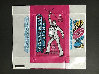 Saturday Night Fever Trading Card Wrapper From 1977 By Donruss