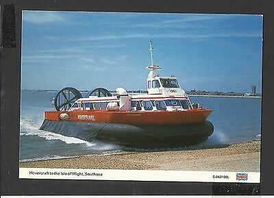 Dennis  Colour postcard Hovercraft to Isle of Wight Southsea unposted