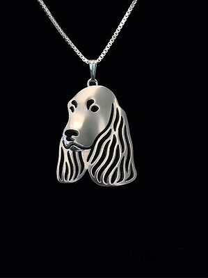 Basset hound 3D pendant necklace dog collectible