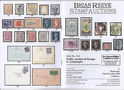 World Stamp Auction 30th Nov. Collections, Italy, GB, 1d blacks, GVI FDCs etc.
