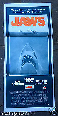 Jaws Movie Poster Shark Attack