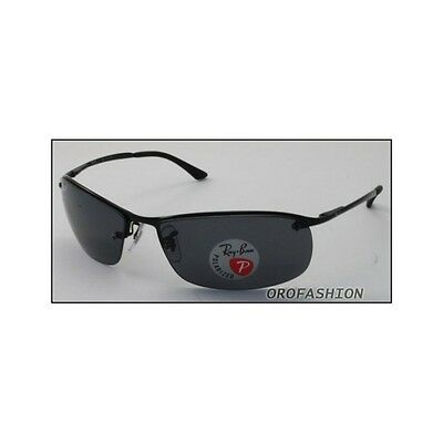 Sonnenbrille Ray Ban TOP BAR - RB3183 002/81 63 POLARIZED