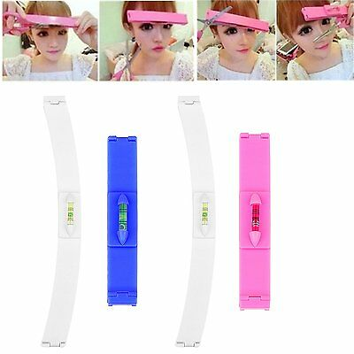 Bangs Hair Trim Clip DIY Tool Clipper Fringe Cutting Guide For Layers Styling UK