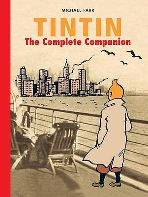 Tintin: The Complete Companion (The Adventures of Tintin) New Hardcover Book Mic