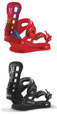 Union Snowboard Bindings-ST Super Tough All-Mountain Freestyle Black Red -2017