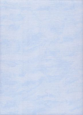 Zweigart 32ct Belfast Linen Cross Stitch Fabric Fat Quarters Vintage Blue