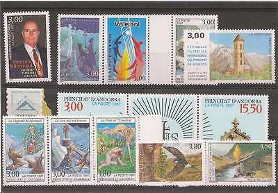 Andorre ** 1997 ANNEE COMPLETE