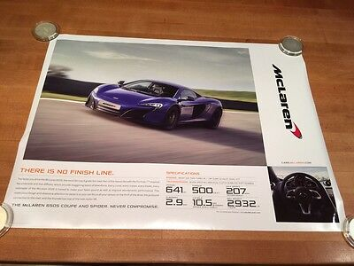 "New McLaren 2015 650S P1 GTR 18"" x 24"" Double Sided Poster  FS"