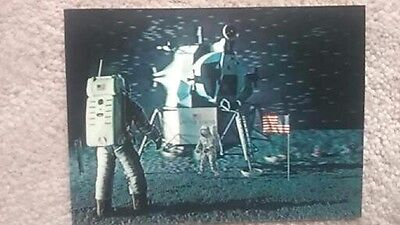Space Apollo 15 Launch July 26 1971 Asahi 3-D Card Printed In Japan