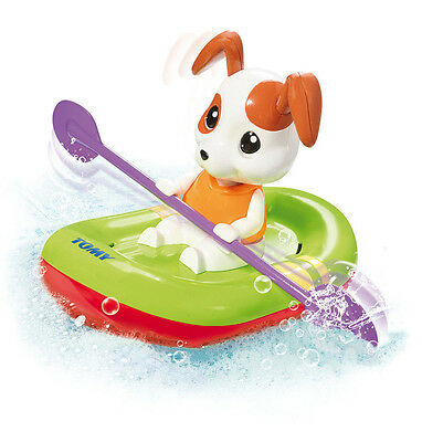TOMY 72424 Paddling Puppy Wind Up Bath Toy Baby Infant Toddler
