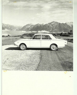 Ford Corsair GT Original Italian Photograph 1964 Excellent Condition Side