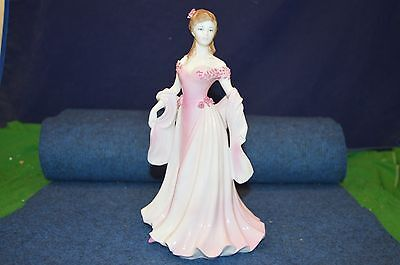 Lovely Royal Worcester ''Grace'' CW 283 Porcelain Figurine 1996 USC RD6373