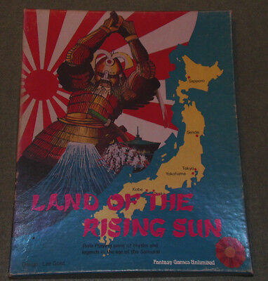 Fgu, Land Of The Rising Sun Rpg - Boxed Set