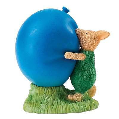 Border Fine Arts Piglet with Balloon Figurine (Knitted) New Boxed A26109