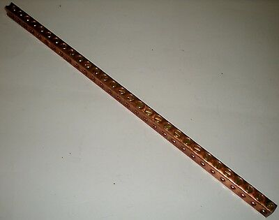 "Ilsco N174 Cu Ground Bars Copper Alloy 12"" X .344"" X .484"""
