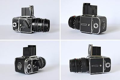 Hasselblad 501CM 501C C/M SONNAR 4/150mm T* A12 back Fully working