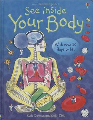See Inside Your Body New Board book  Katie Daynes~Colin King
