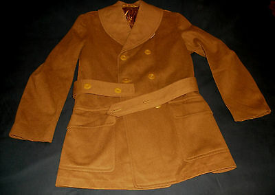 VINTAGE WWII US ARMY Regulation Wool Overcoat, Size 38 (?) - Very Good Condition