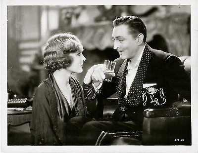 John Barrymore, Madge Evans, Dinner at Eight, 1933 ~ ORIGINAL scene still