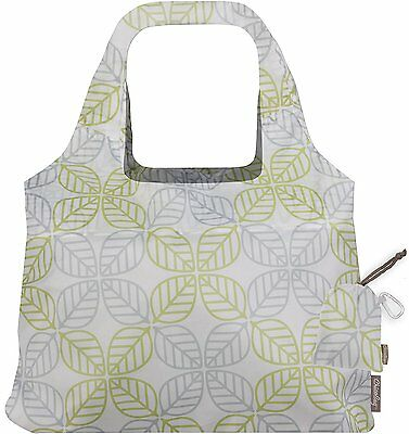 ChicoBag Vita Contemporary Collection Reusable Shopping Tote/Grocery Bag,Leaf Sq