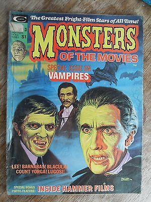 Hammer Films Monsters Of The Movies Vol 1 No 3 1974