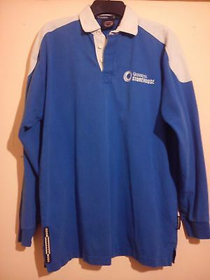 Guinness Storehouse Rugby Shirt Long Sleeve Size Xxl 2Xl Official Merchandise Vg
