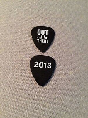 ((( PAUL McCARTNEY ))) guitar pick picks plectrum (ULTRA RARE) OUT THERE 2013