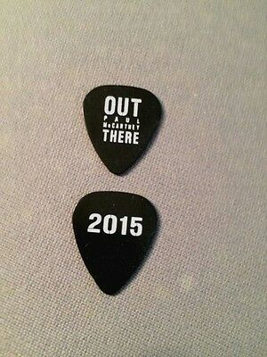 ((( PAUL McCARTNEY ))) guitar pick picks plectrum (ULTRA RARE) OUT THERE 2015