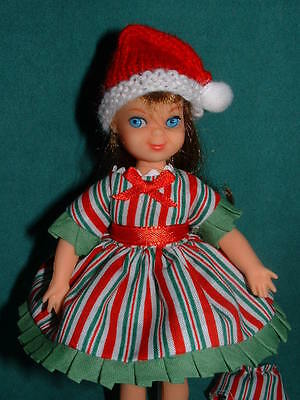 Christmas Stripes Dress for Tutti by Michelle