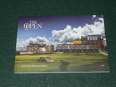 2015 British Open Golf Championship (ST. ANDREWS) Official Programme