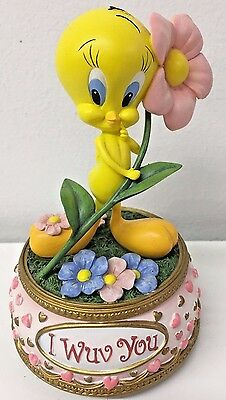 San Francisco Music Box Warner Bros. Tweety Bird I Wuv You