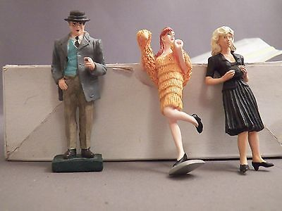 G Scale Roaring 20's Figures three Different