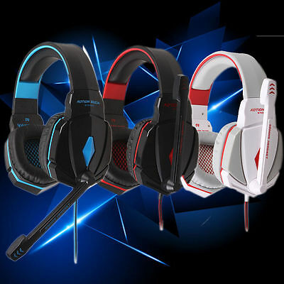 KOTION EACH G4000 Stereo Gaming Headphone Headset Volume Control for PC Game