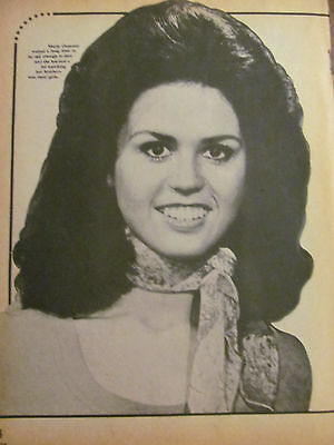 Marie Osmond, Full Page Vintage Pinup