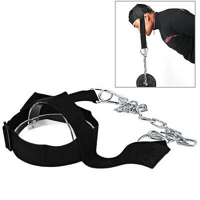 Sport GYM Head Harness Neck Strength Strap Weight Lifting Exercise Fitness Belt