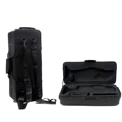 New Fashionable Musical Trumpet Hard Case Big Bag Case Black