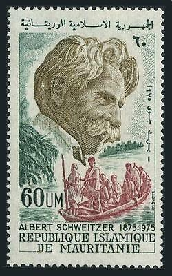Mauritania C153,MNH.Michel 512. Albert Schweitzer,Medical missionary,music.1975.