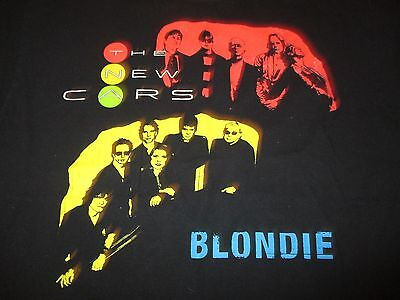 """2006 THE NEW CARS with BLONDIE """"Road Rage"""" Concert Tour (XL) T-Shirt"""