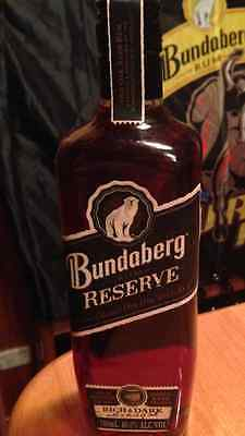 Bundaberg Rum Reserve Bottle And Box
