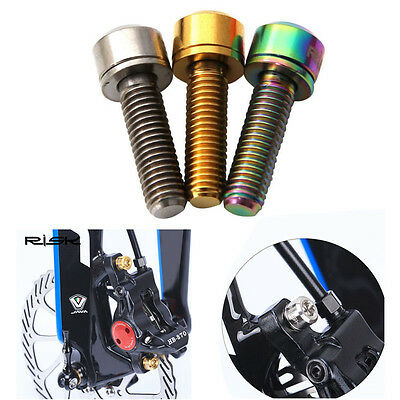 M6x18mm Disc Brake Bolt Clamp MTB Mountain Bicycle Bike Screw With Washer Gasket