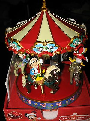 Mr Christmas - Musical Carousel - Lights Up - Moves - Plays 50 Songs - Brand New