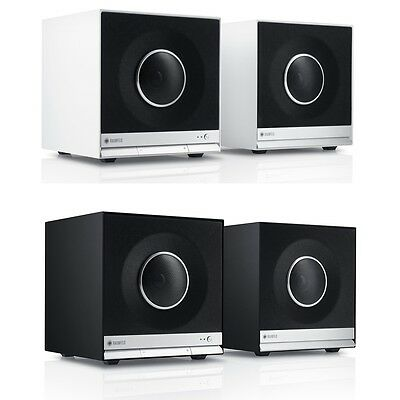 Teufel Raumfeld Cubes Stereo Audio HiFi Streaming DLNA USB Regallautsprecher