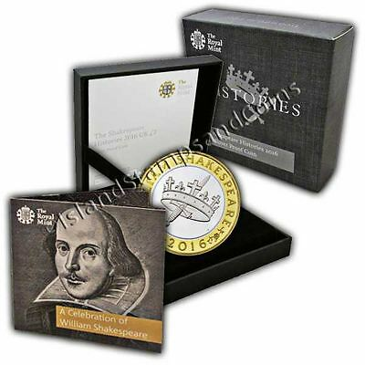 The Shakespeare - Histories 2016 UK �2 Silver Proof Coin