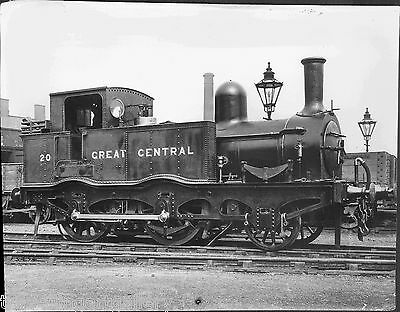 GCR 2-4-0T LOCOMOTIVE No 20 8x6 LNER OFFICIAL PHOTO GREAT CENTRAL RAILWAY
